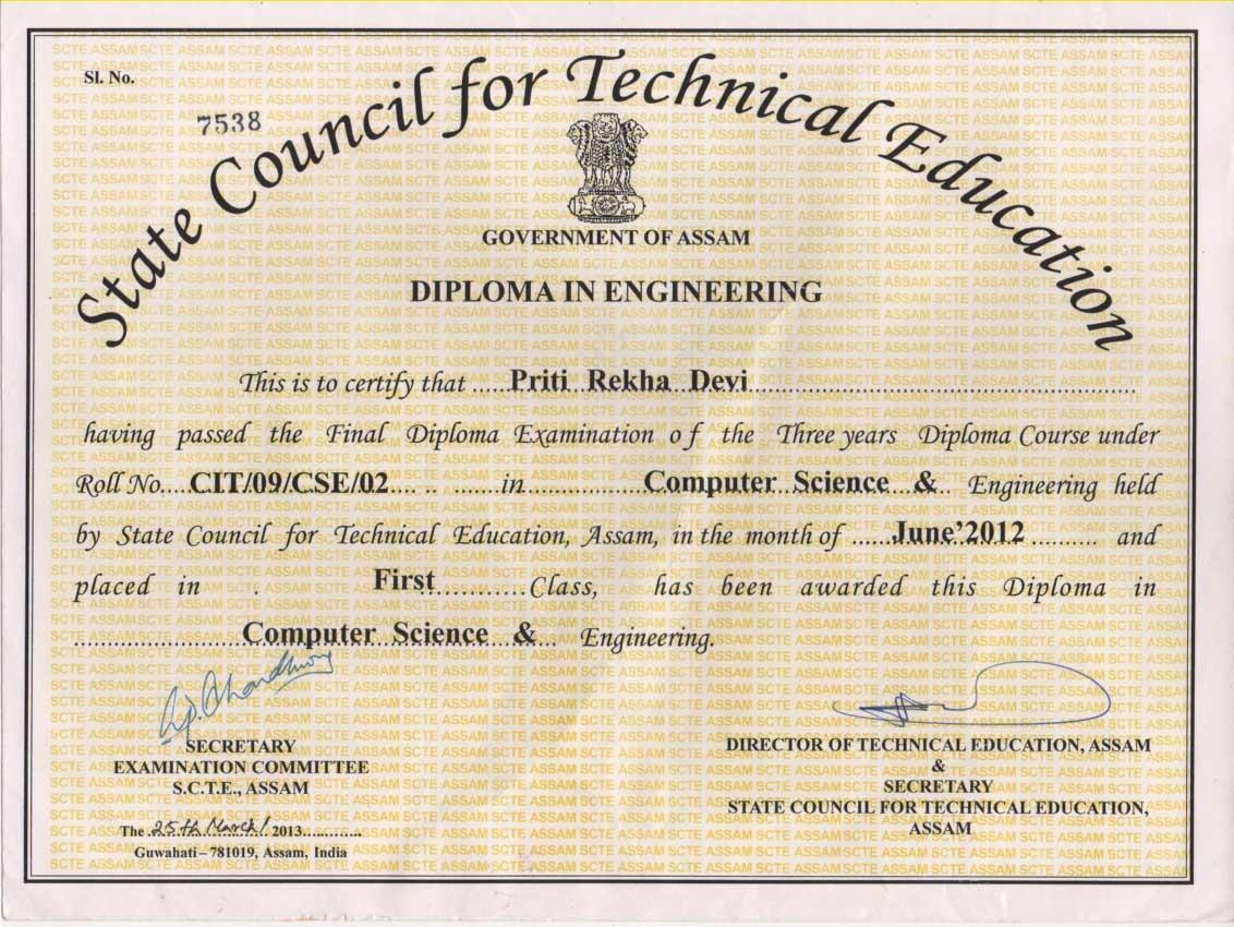 Certificate In Computer Science Best Design Sertificate 2018