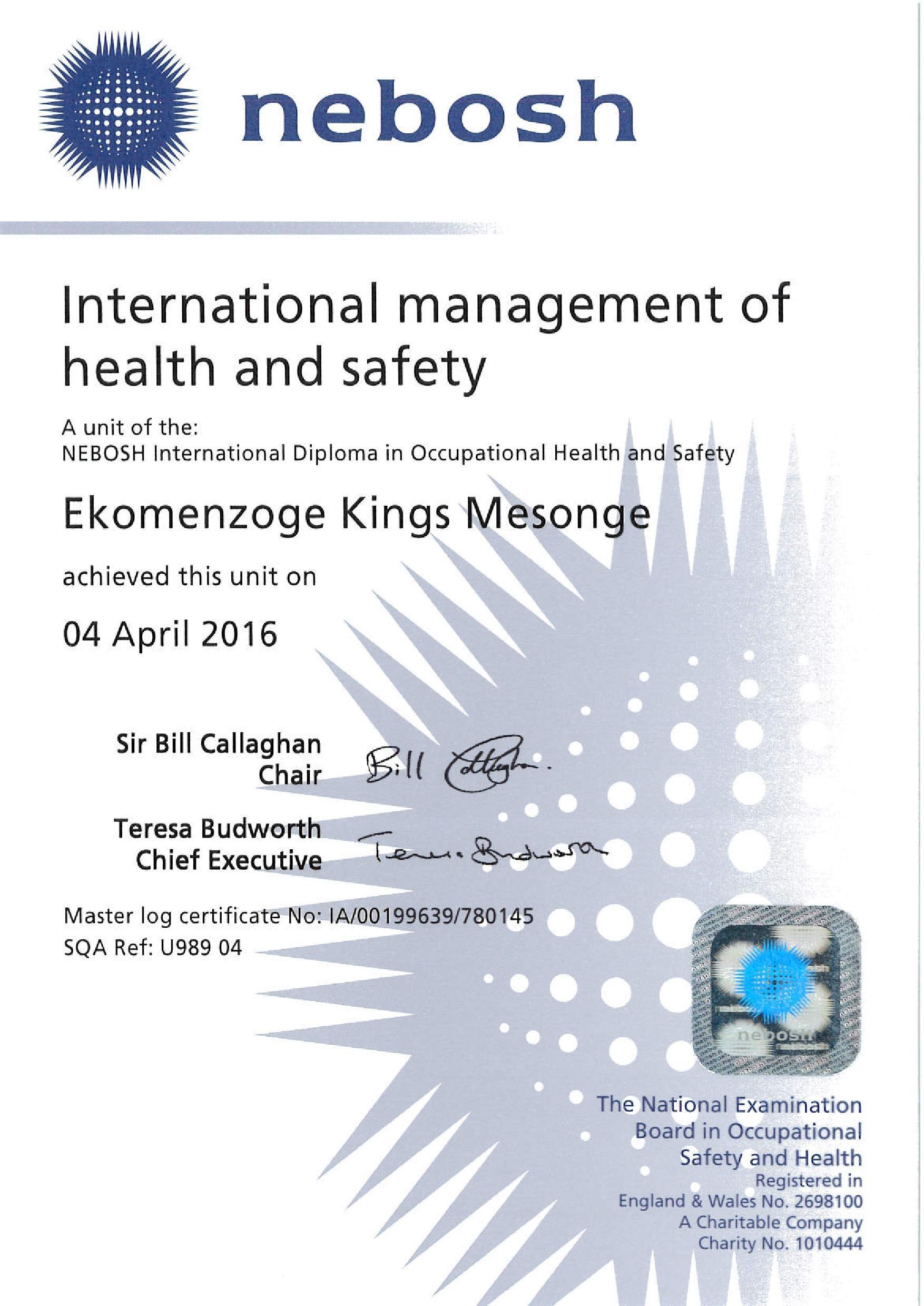Kings Mesonge Ekomenzoge Bayt