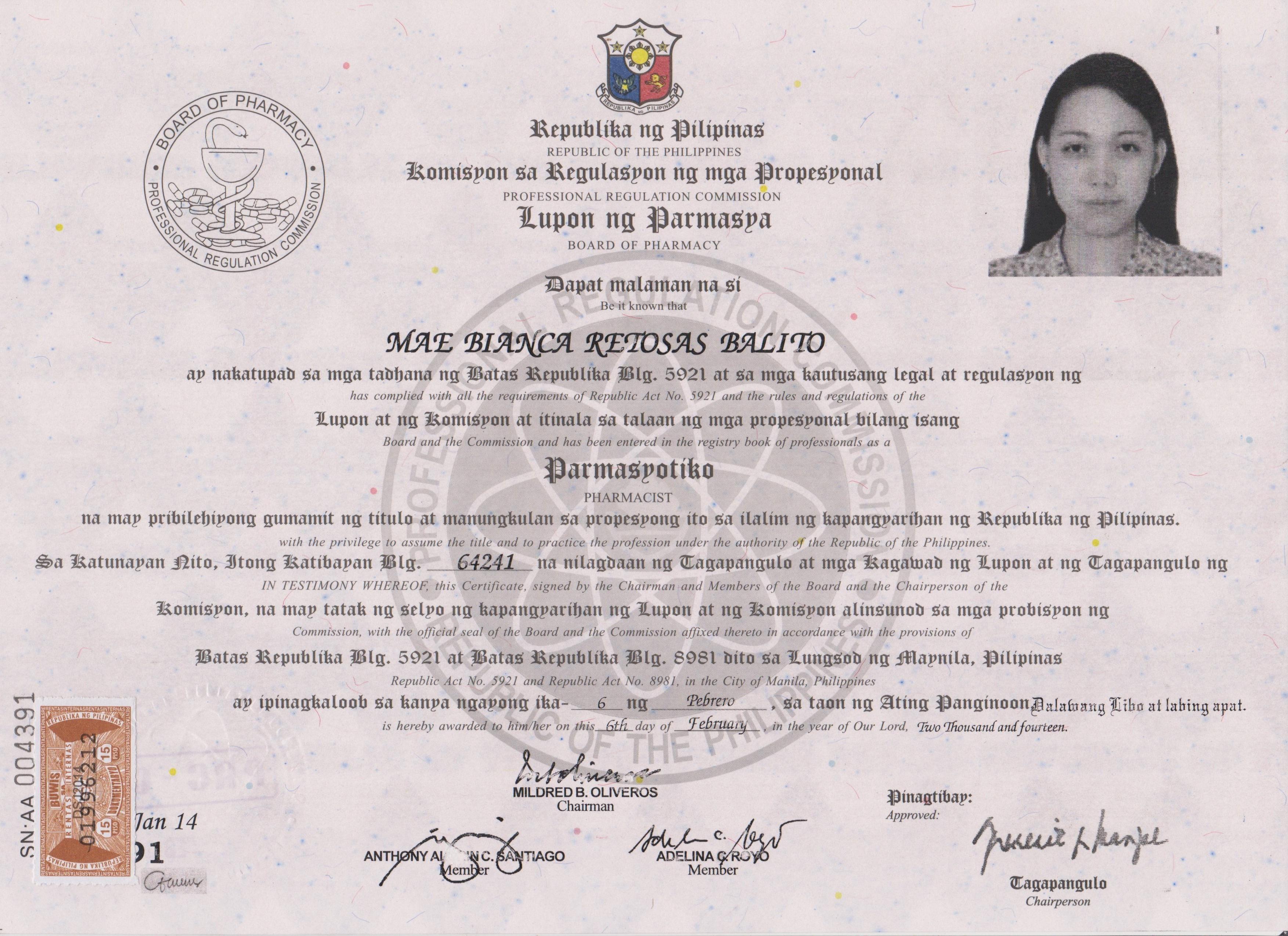 Mae Bianca Balito Bayt