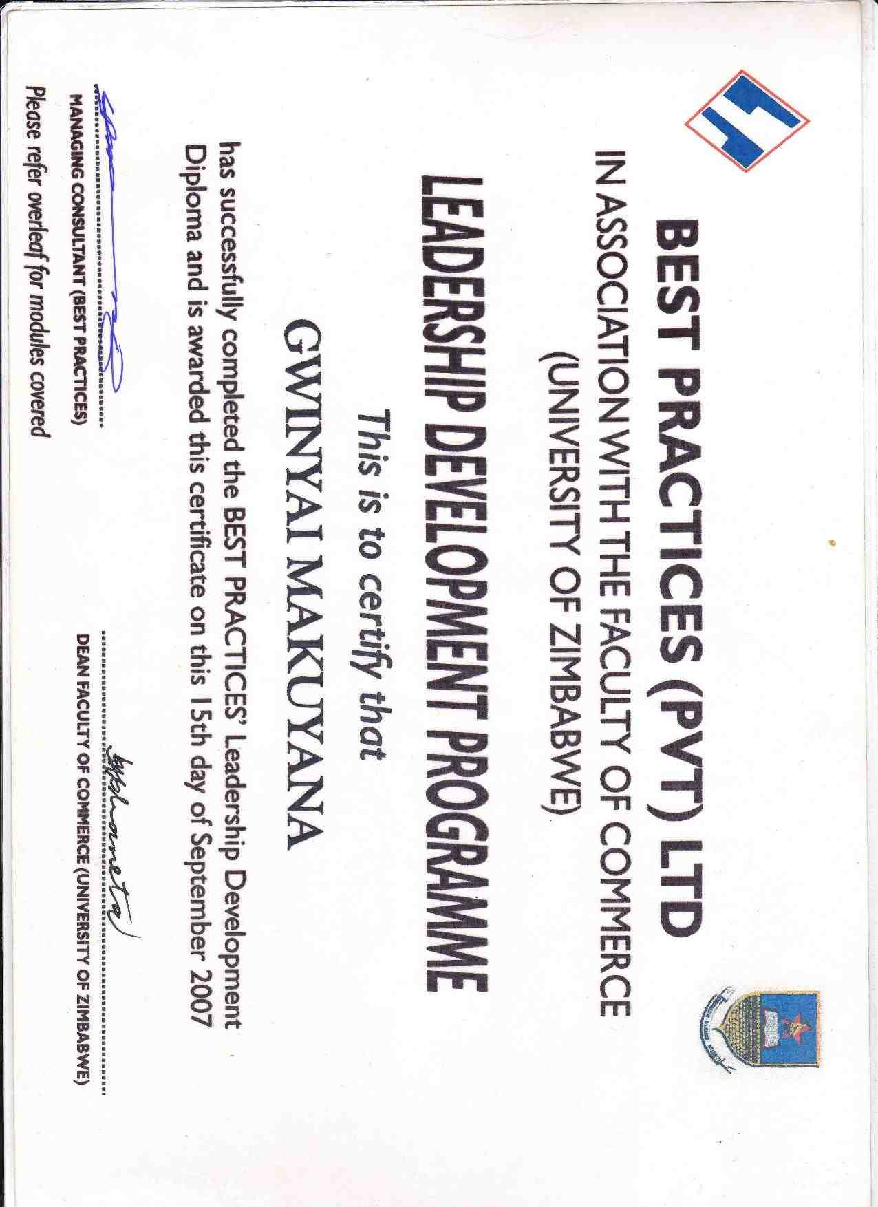 gwinyai makuyana