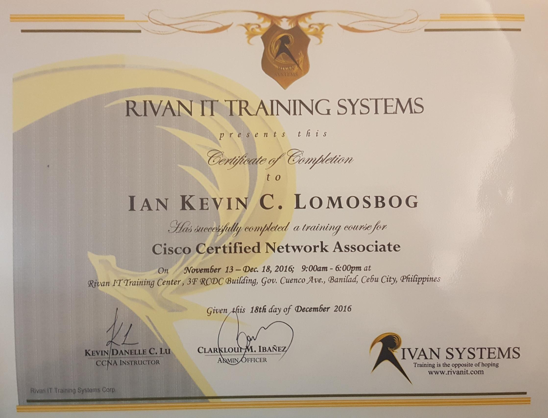 Ian Kevin Lomosbog Bayt