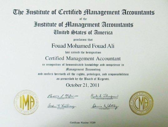 Fouad Mohamed, CMA - Bayt.com