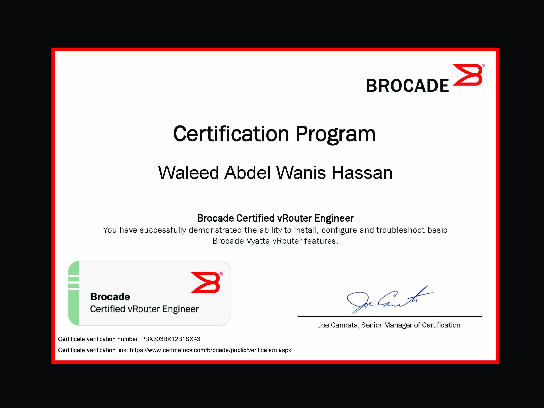 Ziemlich Brocade Certifications Zeitgenössisch ...