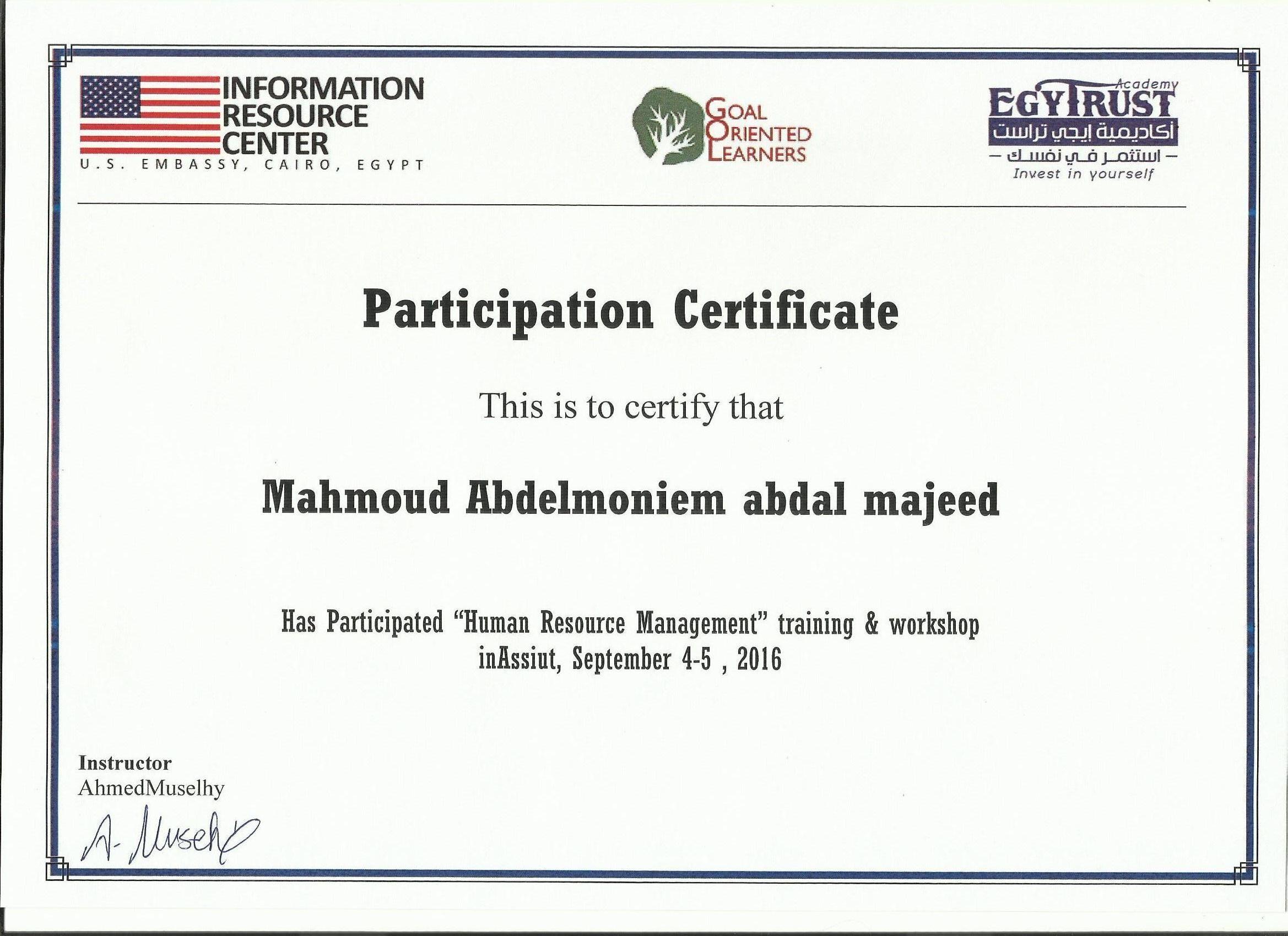 Mahmoud Abdel Moneim Abdul Majeed Mohamed Bayt