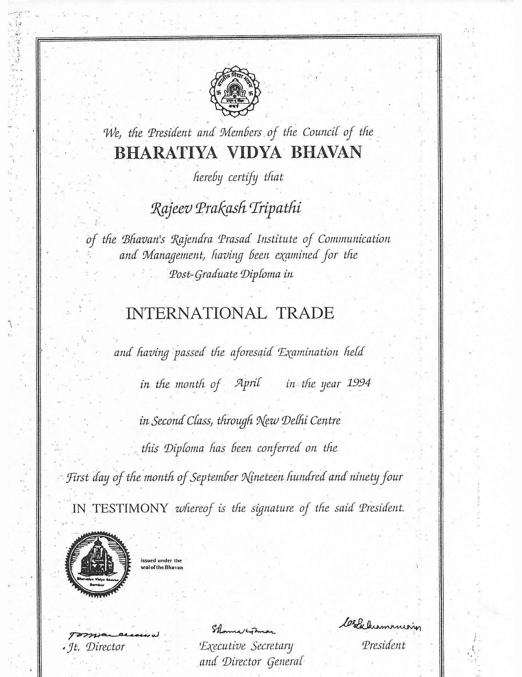 Rajeev Tripathi Bayt Com