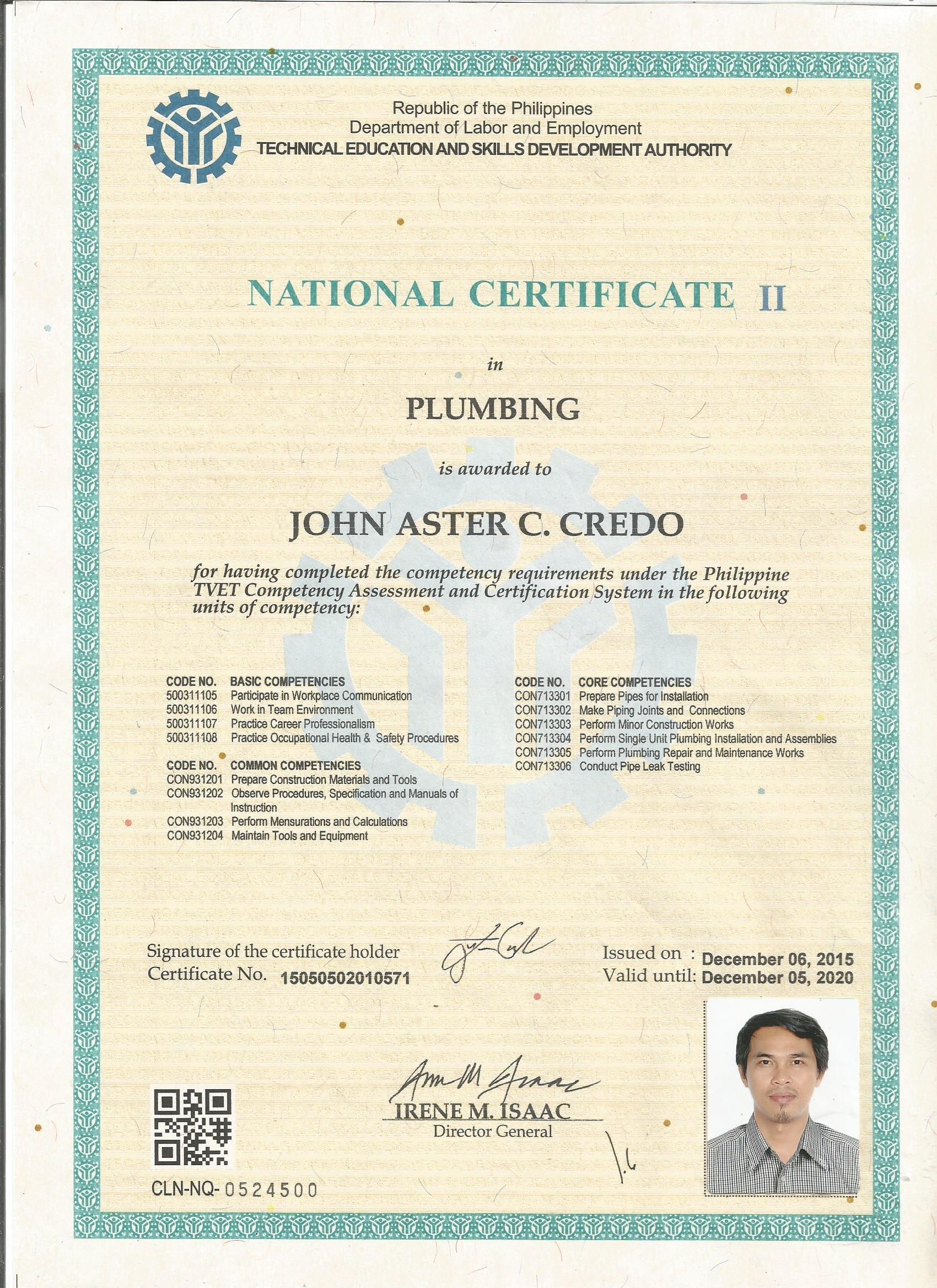 John Aster Credo Bayt