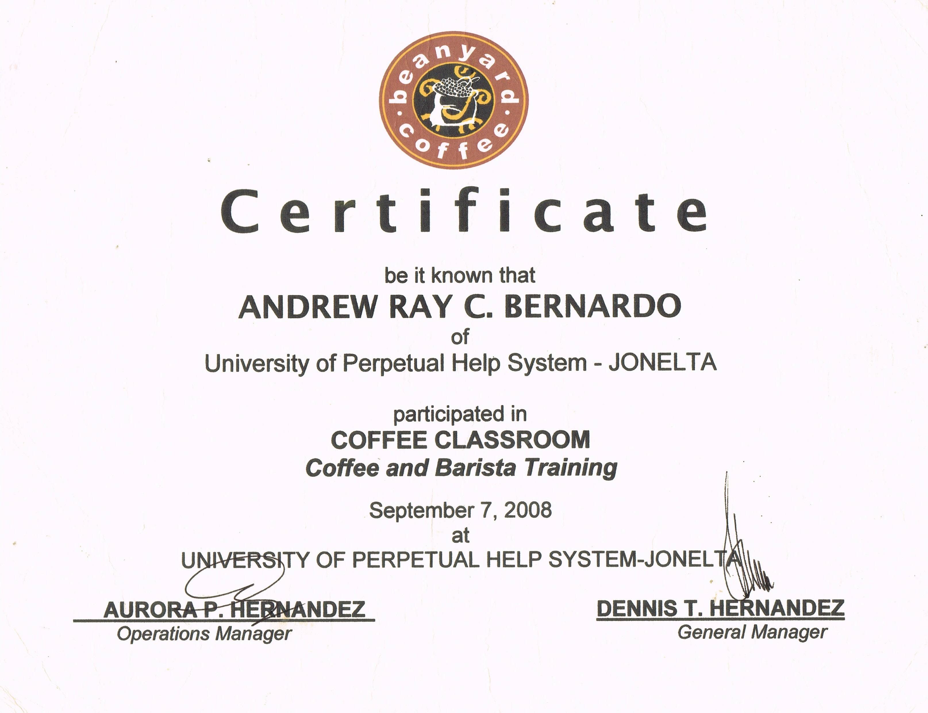 Andrew Ray Bernardo