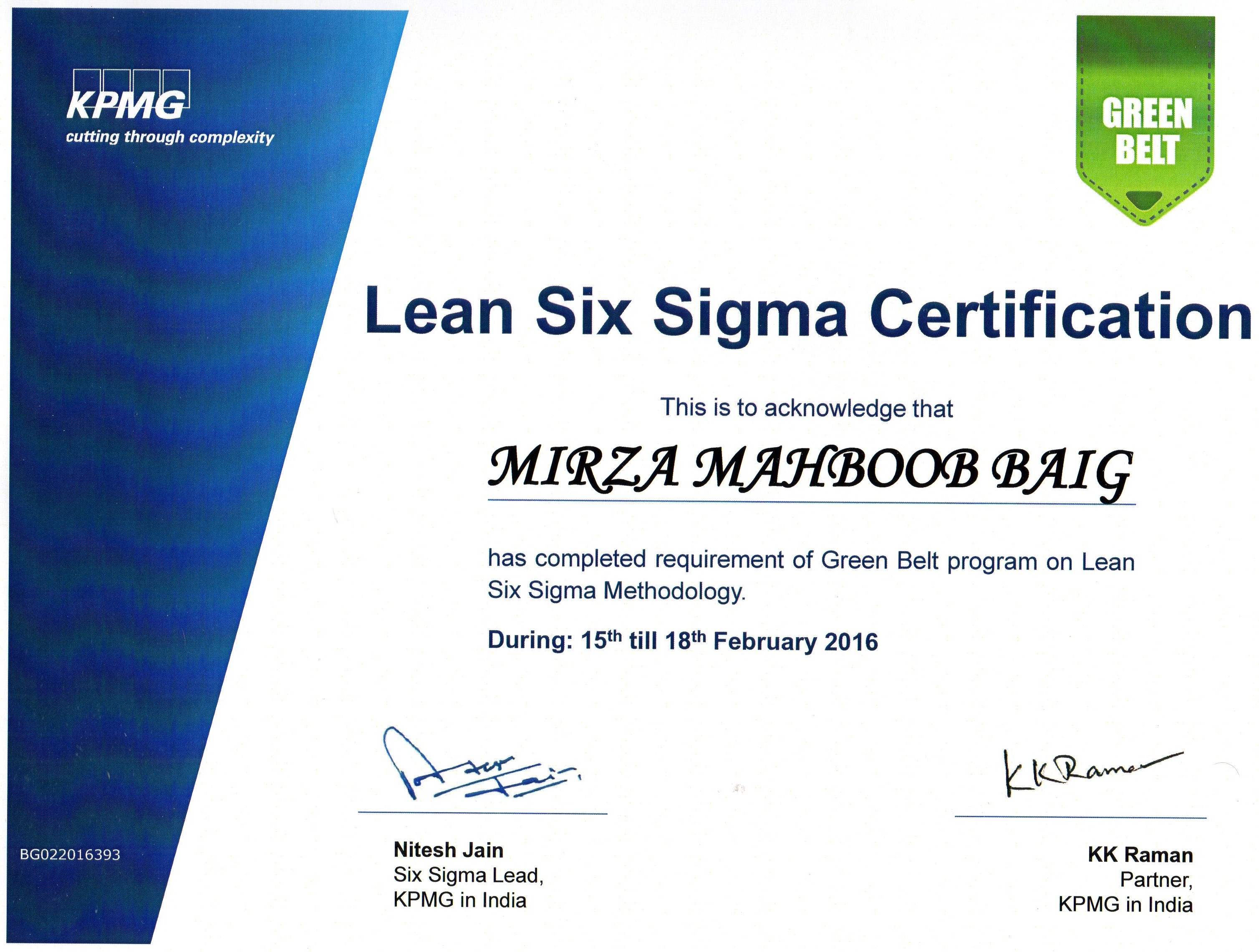 Six Sigma Certification In Saudi Arabia Image Collections Creative