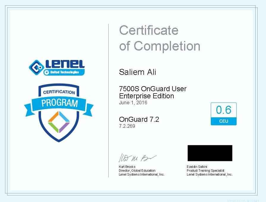 saliem bashier ali abdulgadier bayt com rh people bayt com Lenel Training Center Lenel Training Courses
