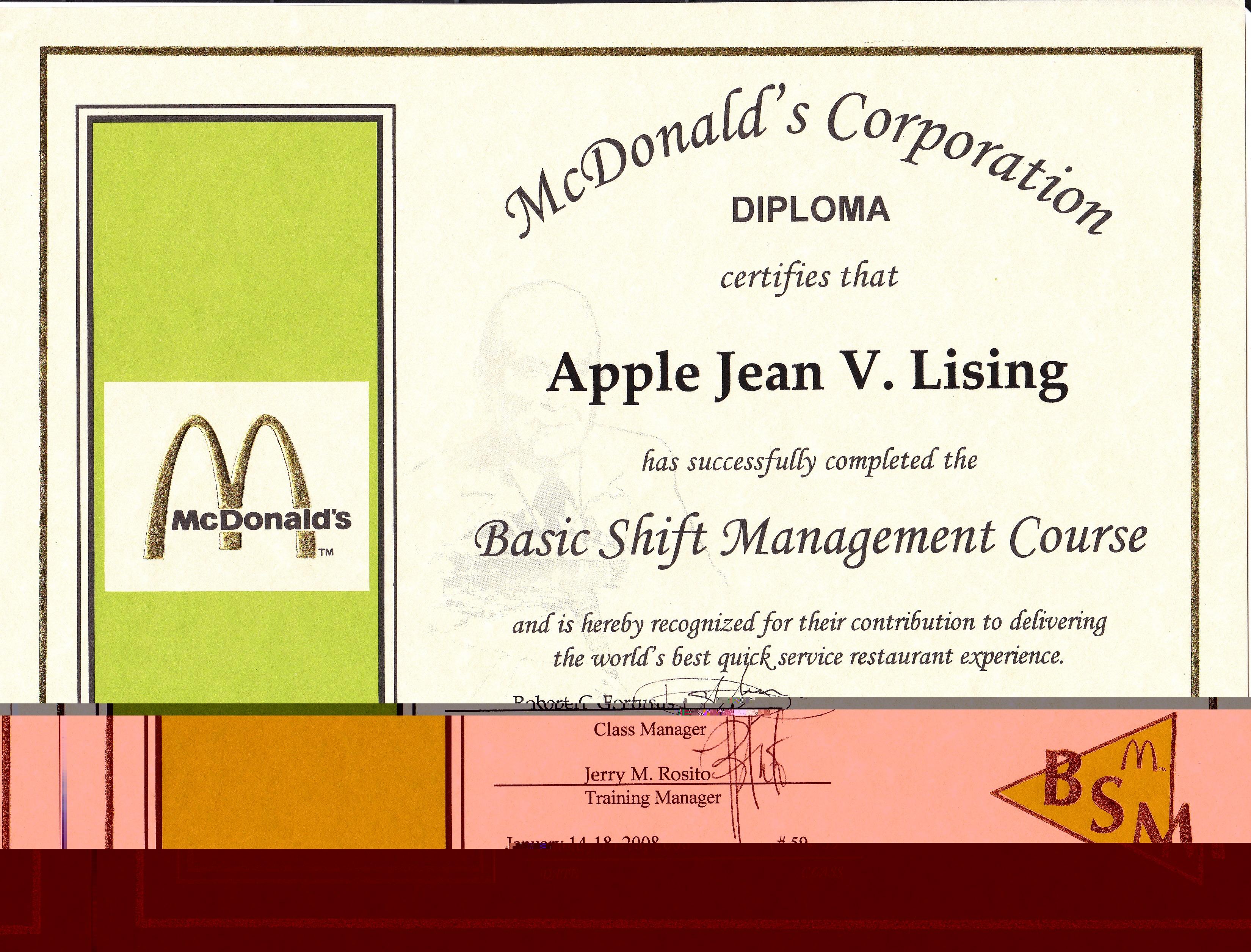 Apple Jean Lising Bayt