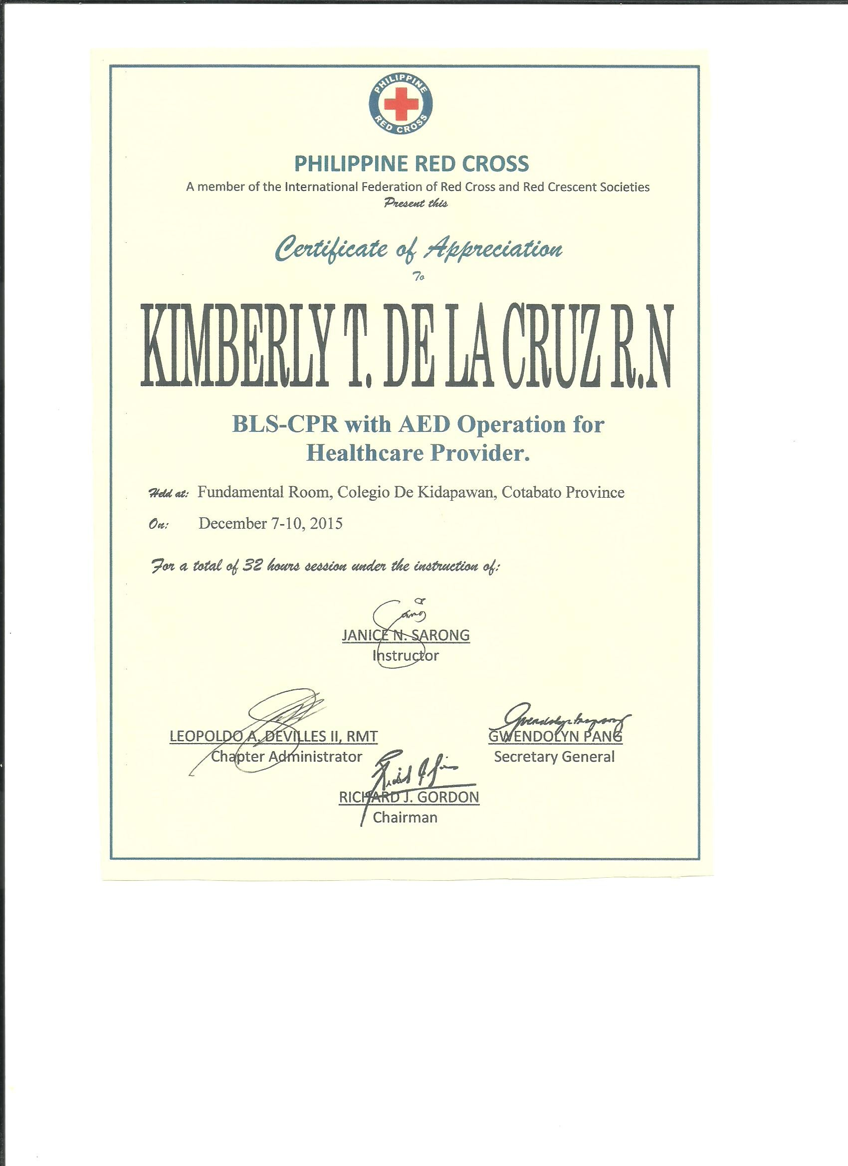 Kimberly De La Cruz Bayt
