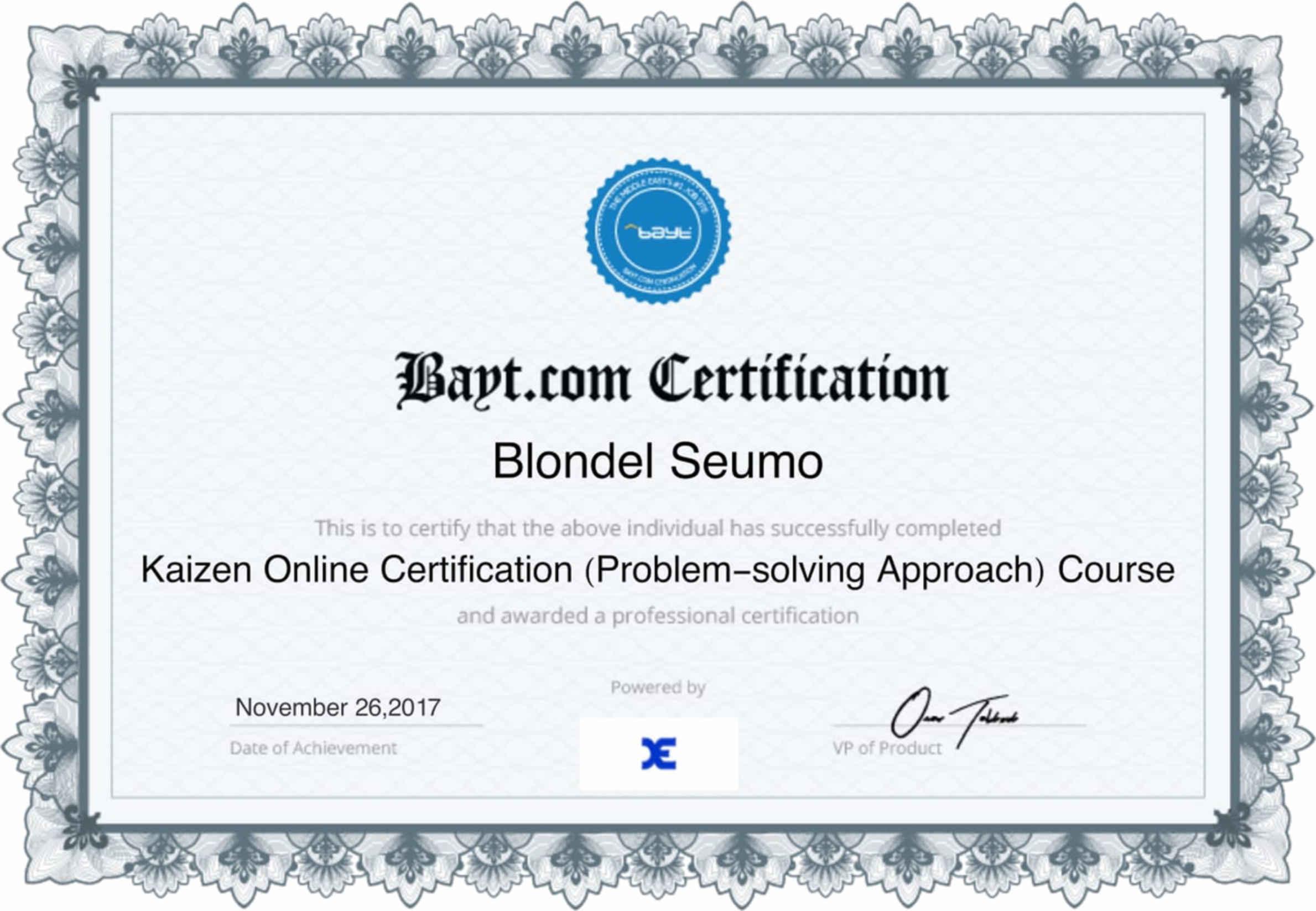 Blondel SEUMO - Bayt.com