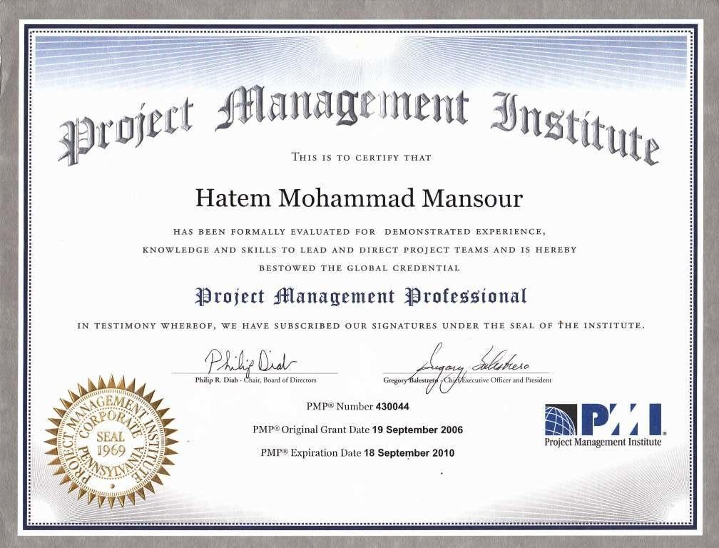 Hatem Mansour, ITIL, PMP Certified - Bayt.com