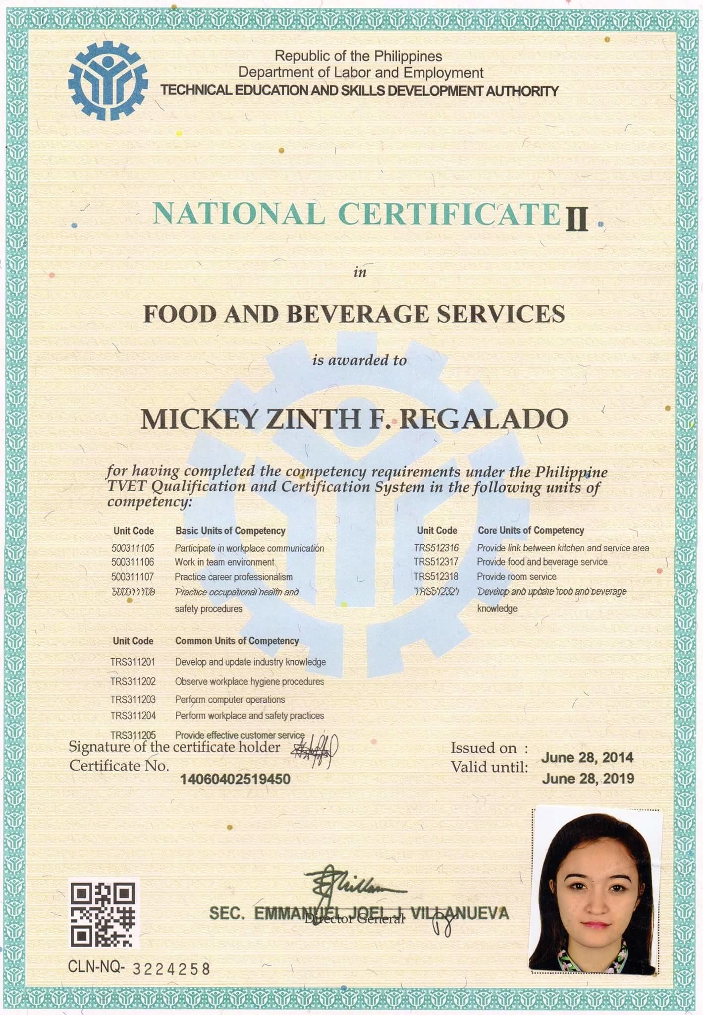 Mickey Zinth Regalado Bayt