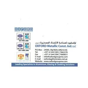 Architect at Oxford Metallic Const  Ind  LLC - Umm Al Qaiwain - Bayt com
